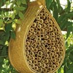 Natural Bamboo Mason Bee House, Gardeners.com